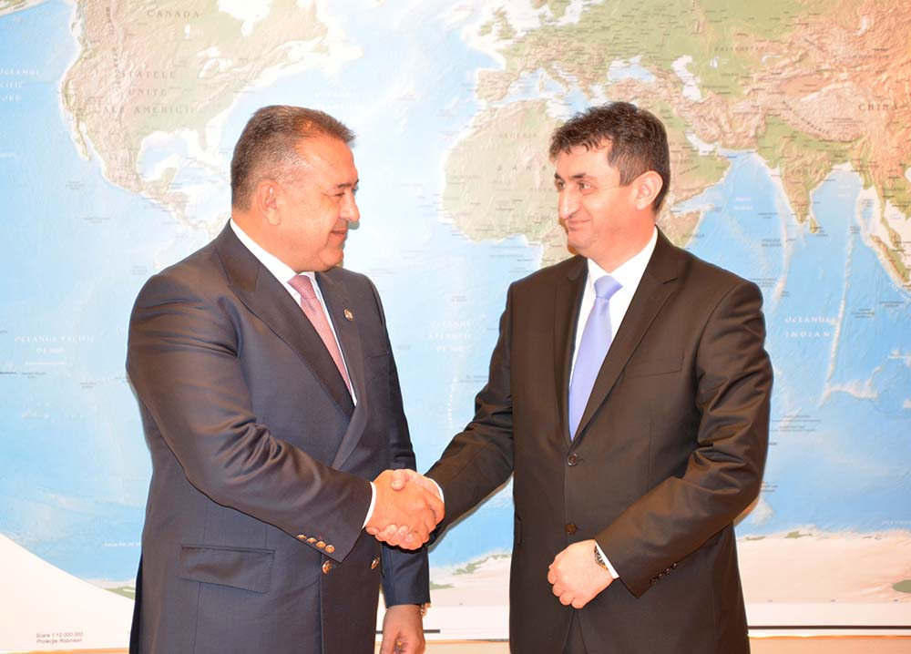 Sastanak sa predsjednikom Privredne i industrijske komore Rumunije