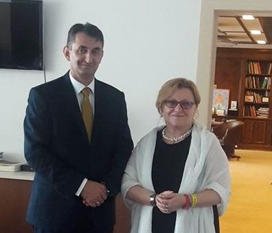 Sastanak sa ministrom kulture u Vladi Rumunije