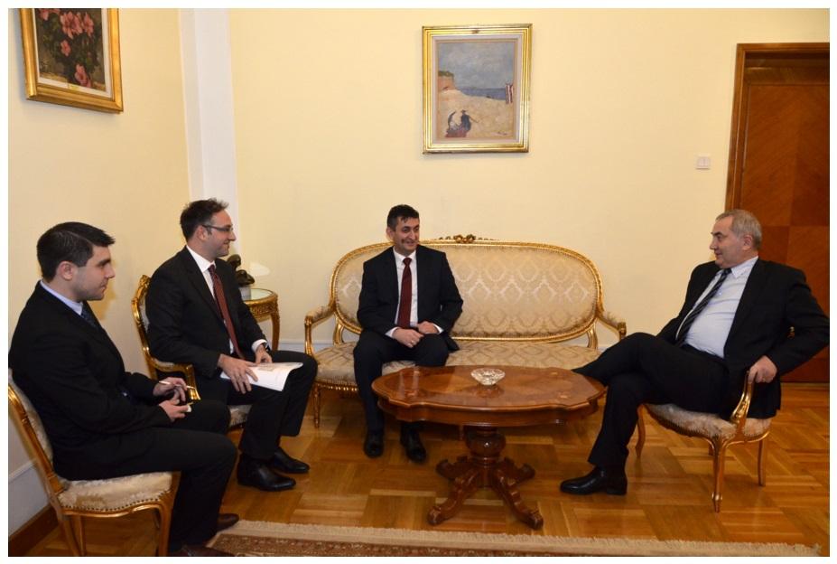 Susret sa ministrom vanjskih poslova Rumunije dr Lazarom Komaneskom