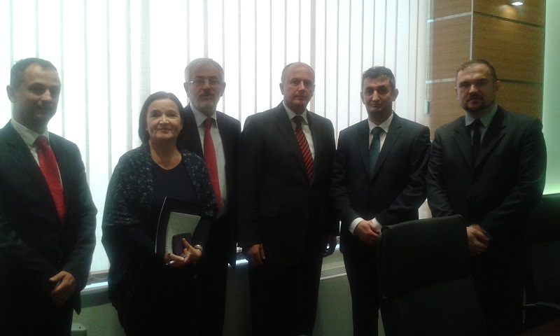 Predsjednik Spoljnotrgovinske komore Bosne i Hercegovine primio novoimenovane ambasadore