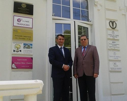 Sastanak sa predsjednikom Privredne komore regije Jaši
