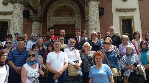 Susret sa vjernicima iz Prnjavora u Sinaji