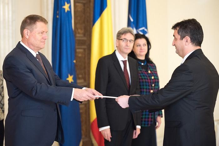 Prijem kod predsjednika Rumunije Klausa Johanisa