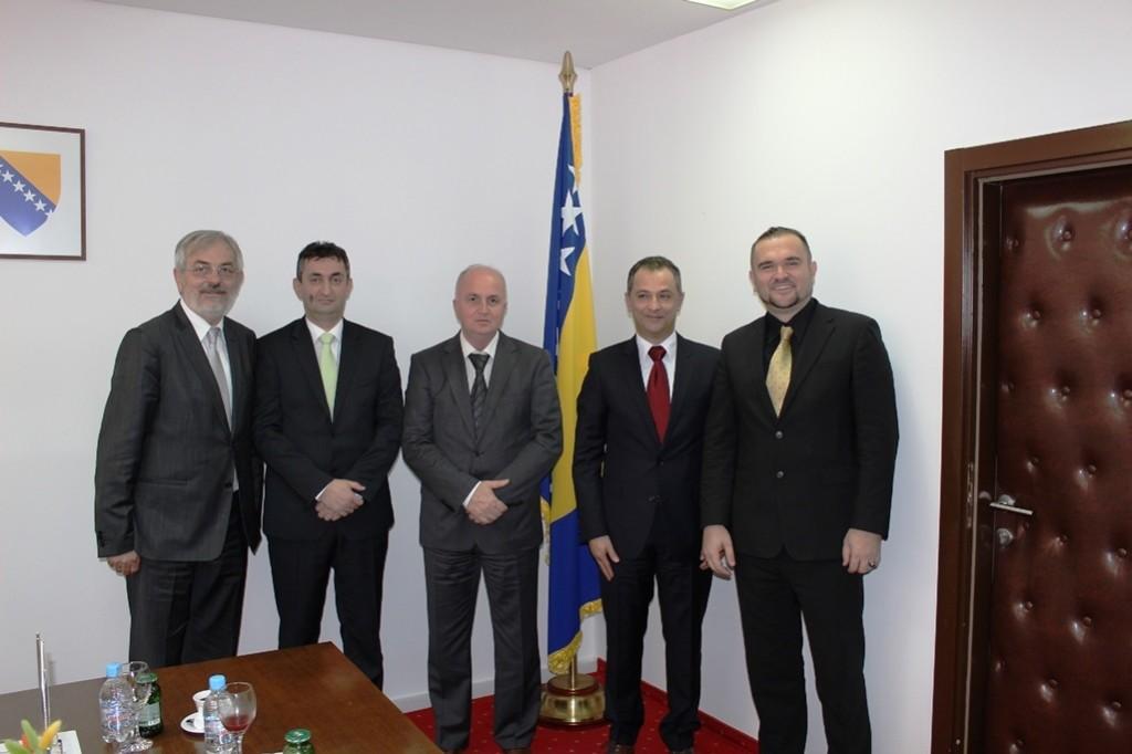 Predsjedavajući Mušić primio novoimenovane ambasadore Bosne i Hercegovine