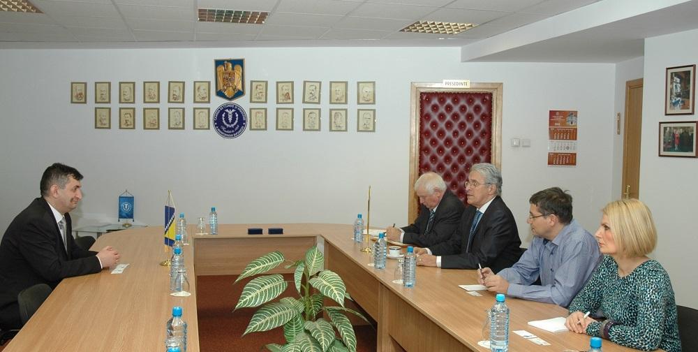 Sastanak sa predsjednikom privedne komore u Bukureštu