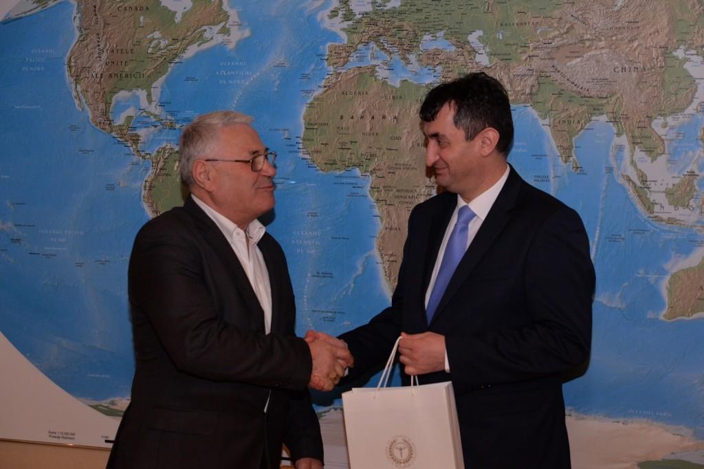 Sastanak sa predsjednikom Privredne i industrijske komore Ilfov