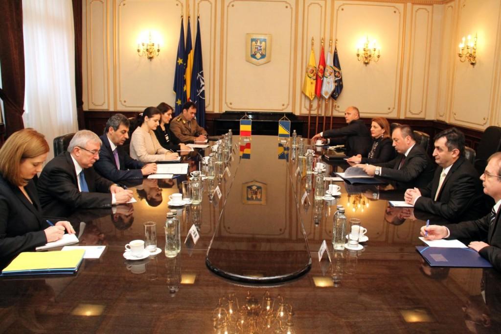 Ministar vanjskih poslova Bosne i Hercegovine Igor Crnadak u zvaničnoj posjeti Rumuniji