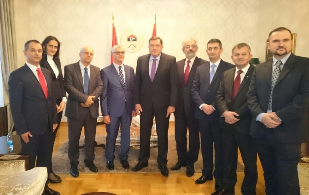 Predsjednik Republike Srpske razgovarao je sa novoimenovanim ambasadorima BiH