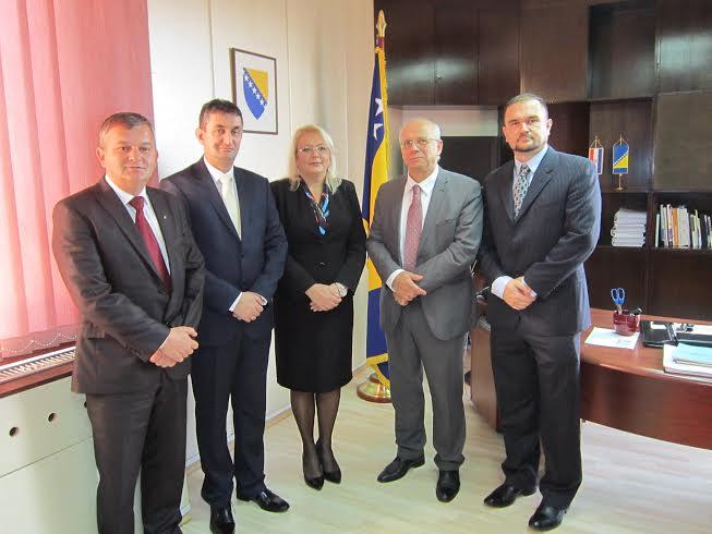 Predsjedavajuća Bradara s novoimenovanim ambasadorima BiH