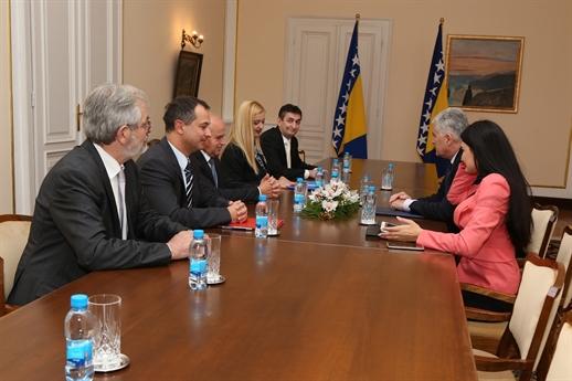 Predsjedavajući Čović primio je novoimenovane ambasadore Bosne i Hercegovine