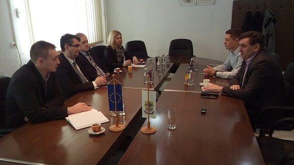 Sastanak sa gradonačelnikom Doboja