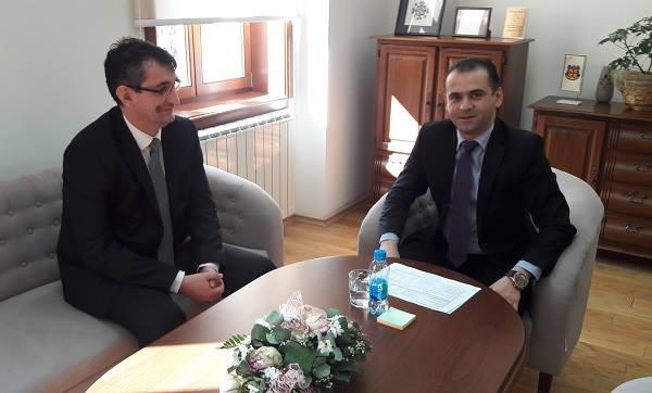 Sastanak sa načelnikom opštine Šamac