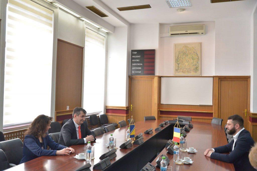 Sastanak sa zamjenikom gradonačelnika grada Brašov