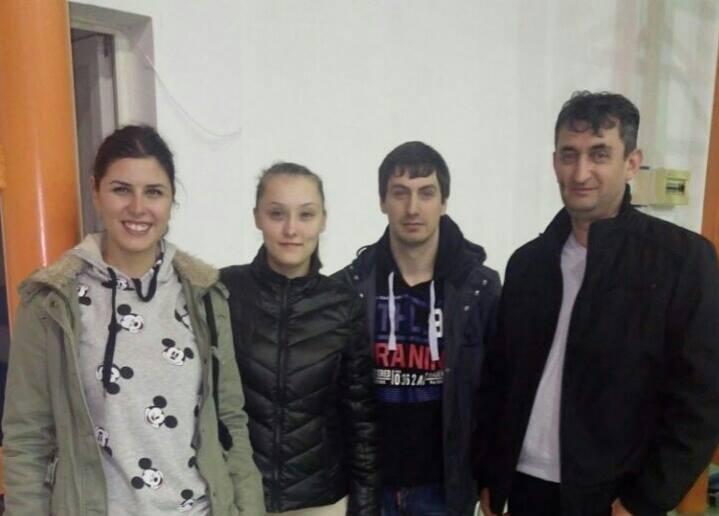 Sa studentima iz Banja Luke u Rumuniji