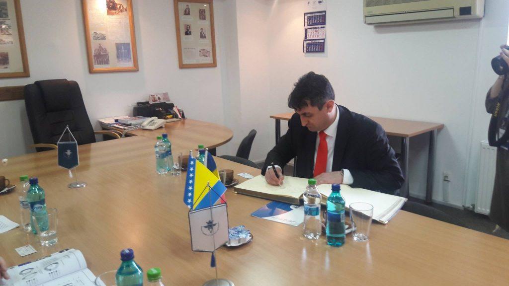 Sastanak sa predsjednikom i generalnim direktorom privredne komore okruga Brašov