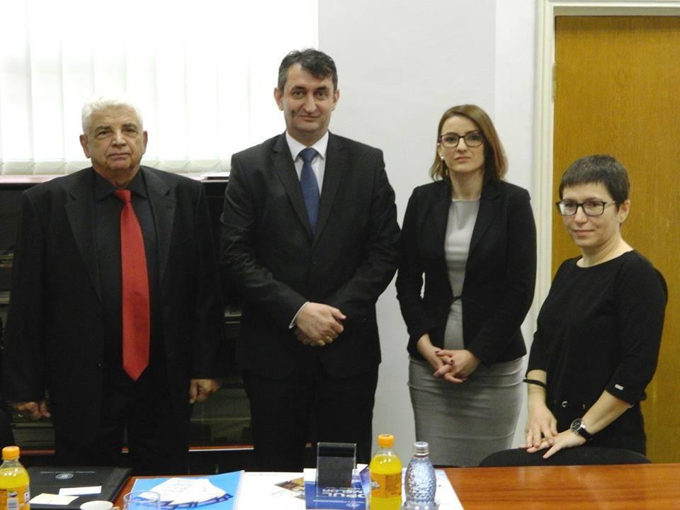 Susret sa predsjednikom privredne komore regije Dambovica