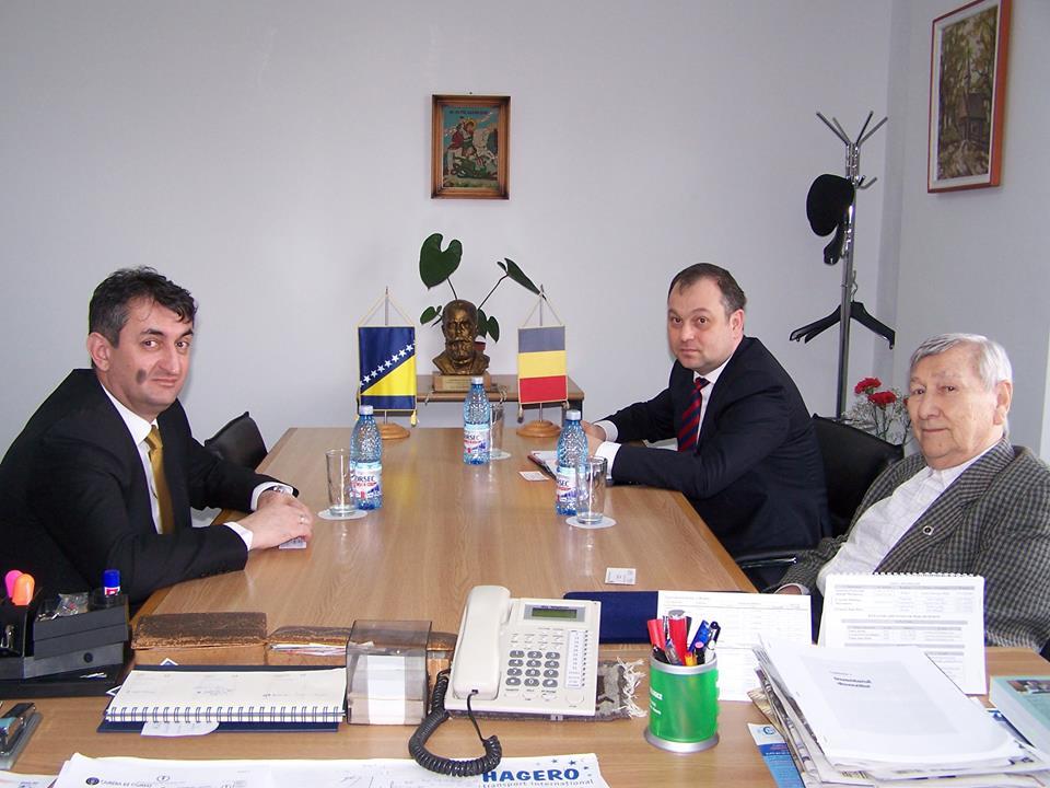 Sastanak sa predsjednikom i generalnim direktorom privredne komore okruga Maramureș