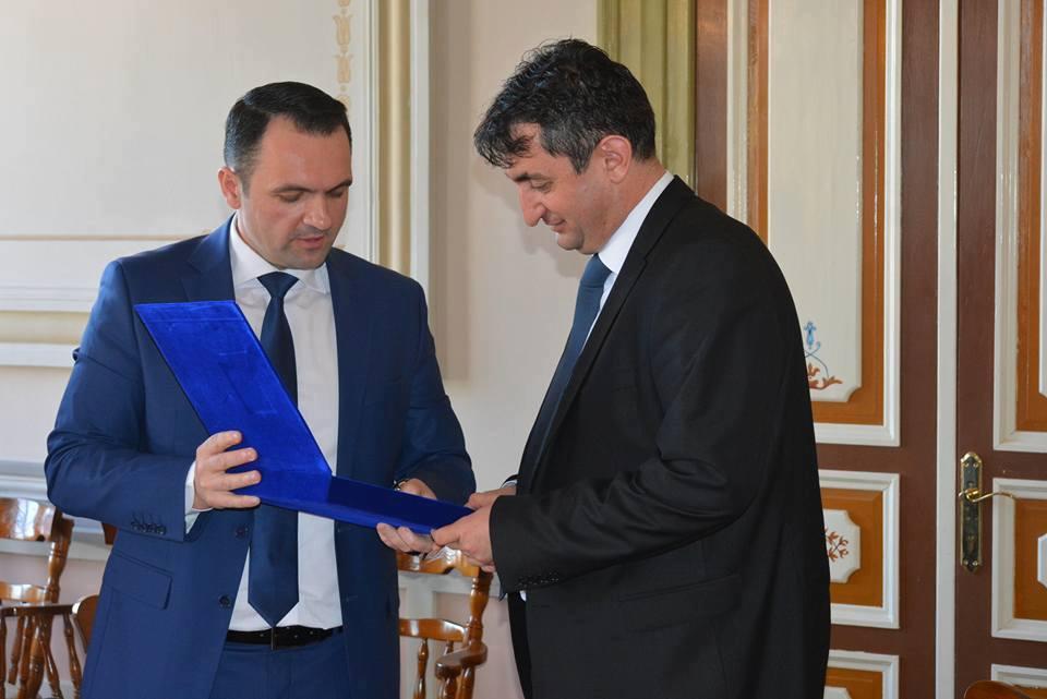 Sastanak sa gradonačelnikom grada Trgovište