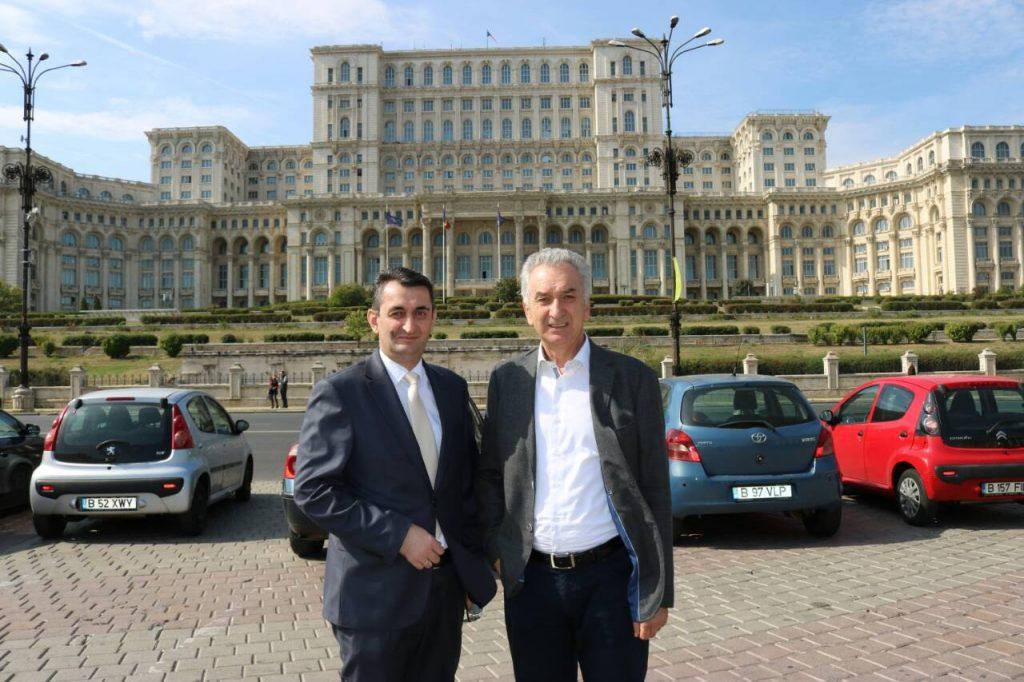 Ministar Šarović u posjeti Bukureštu