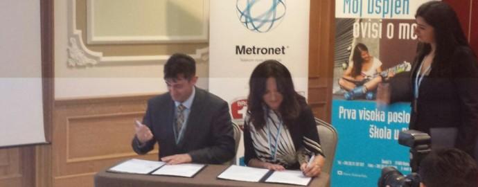 Sporazum o saradnji sa Visokom poslovnom školom PAR iz Rijeke