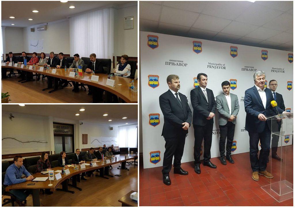 Sastanak sa načelnikom opštine Darkom Tomašem