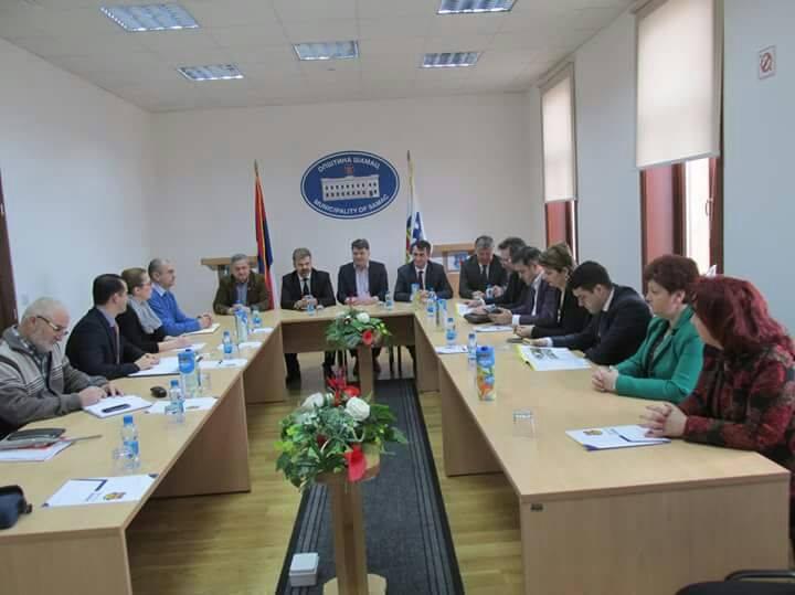 Sastanak sa načelnikom Đorđem Milićevićem