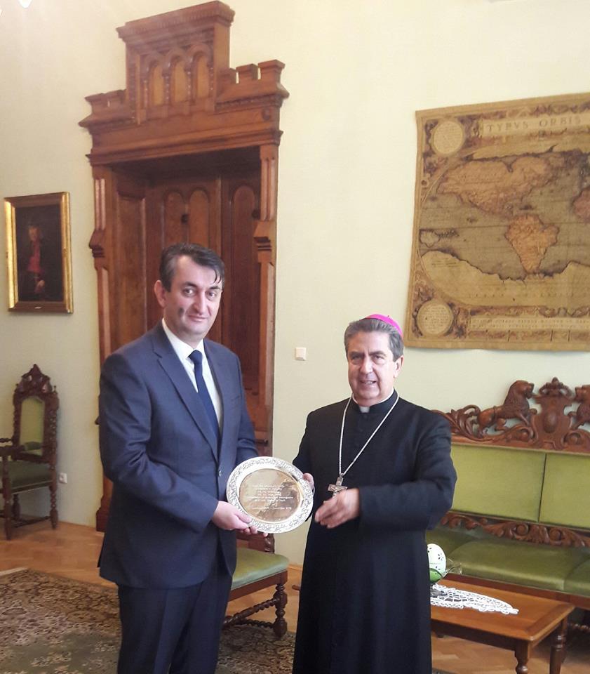 Sa doajenom diplomatskog kora
